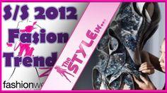 أهم 6 عناصر في موضة الأزياء لربيع صيف 2012