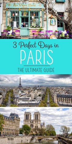 Paris Itinerary Trav