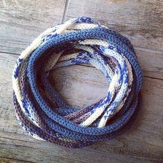 vane.handicraft's photo on Instagram tricotin necklace