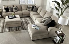 Living Room Furniture available at HOM Furniture, Furniture Stores in Minneapolis Minnesota & Midwest. Sectional