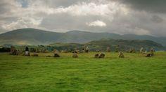 Castlerigg Stone Circle in Cumbria, Cumbria