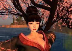 Japanese Oiran inspired look.