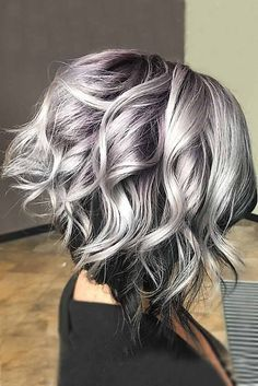 Gray hair is becoming quite trendy thanks to pop stars like Pink and Rihanna. Check out these cool gray hairstyles from salt and pepper to silvery gray!