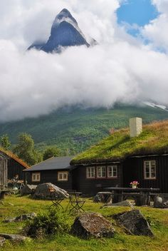 Innerdal tower, Norway   Renndølssetra, Innerdalen (2) by Bergen64, via Flickr