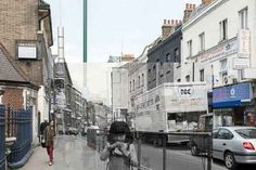 Girl in Brick Lane, 1978.   18 Photos Of London's Past, Blended With Its Present