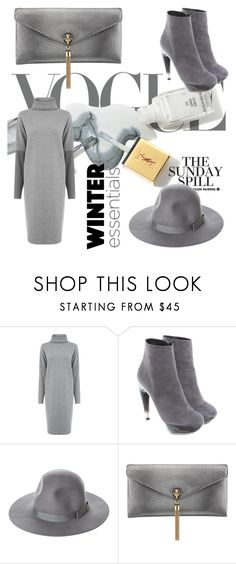 """Winter Essentials"" by fluffytuff ❤ liked on Polyvore featuring Warehouse, Jil Sander, Brixton and Bulgari"