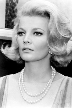 Beautiful classic style. Gena Rowlands (elderly Allie from the Notebook)