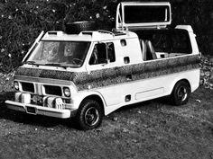 Ford Econoline Kilimanjaro Concept (1970)