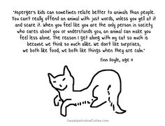 Understanding Asperger's  - a child's perspective. Click to read the blog post including his insights.
