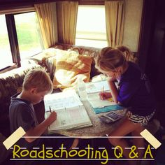 I have to be honest and admit that I find it a bit hilarious that I'm writing a post on roadschooling after the past few days we've had in our own schooling endeavors after getting star…