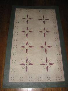 Timeless Floorcloths - Floorcloth Gallery IILove Birds PlacematsKaki, Colonial Black and Antique LaceEdward Durant RunnerKaki, Navy Blue and TabacoBump Tavern Table RunnerKaki, Navy Blue and Colonial RedIsacc BuckYellow Ocher and Colonial BlackMay HouseAntique Lace, Maroon, and Hunter GreenThe Tree of LifeYellow Ocher, Hunter Green and Colonial Red Bump TavernColonial Black and KakiMay HouseHunter Green, Sage Green, Kaki and TabaccoHumphries HouseYellow Ocher…