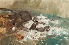 Joan Eardley, Winter Sea III, 1958