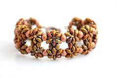 Náramky - Jesenné kvety - 7565293_