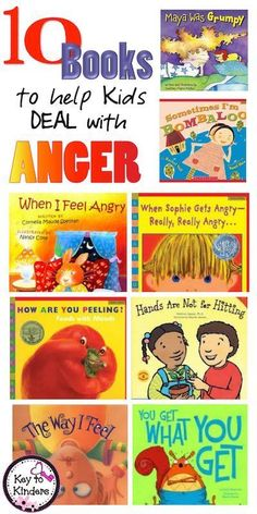 Sometimes talking is not enough. When teaching a child how to deal with anger, a good book can give them the language to express and understand their feelings. Check out some of my favorites...
