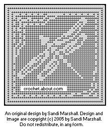 Dragonfly Design For Filet Crochet With Free Chart