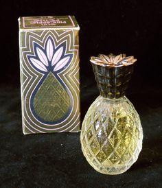 Vintage 1970s Avon Pineapple Petite Roses Roses by JazzWalrus
