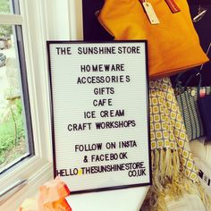 """32 Likes, 3 Comments - Neha (@the_sunshine_store) on Instagram: """"We are open! Lovely cake, coffee, shopping and gorgeous views too! Do pop in and see us, open…"""""""