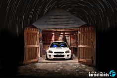 Subaru impreza wrx sti rally car