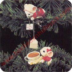 1992 Hallmark Ornament - Holiday Teatime - Hallmark Keepsake Christmas Ornaments