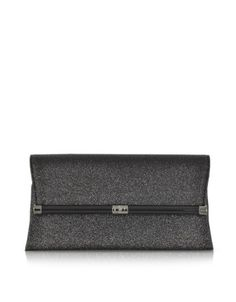 Diane Von Furstenberg 440 Envelope Glitter Clutch- $228 on Forzieri
