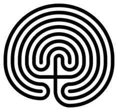 Labyrinth (ancient Crete)  The spiral is found in many pre-historic Goddess-worshiping centers of Europe. It is also found in the pattern of the labyrinth found in ancient Crete, the mother-centered Minoan civilization.