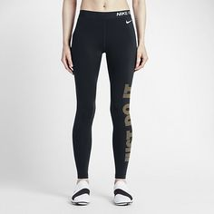 Nike Pro Warm Women's Graphic Training Tights. Nike.com
