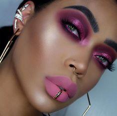 Bright Makeup, Makeup For Green Eyes, Glam Makeup, Girls Makeup, Pretty Makeup, Makeup Inspo, Makeup Inspiration, Beauty Makeup, Eye Makeup
