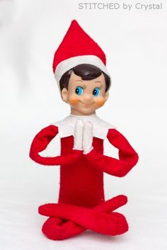 STITCHED by Crystal: Tutorial: Add Wire to an Elf on the Shelf