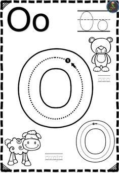 Letter Worksheets For Preschool, Preschool Centers, Preschool Writing, Kindergarten Math Worksheets, Preschool Curriculum, Alphabet Worksheets, Alphabet Activities, Kids Writing, Preschool Activities
