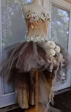 Just so inspired, wild, and shabby tattered gorgeous!!