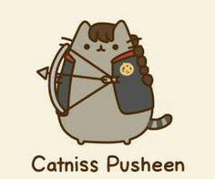 Catniss pusheen