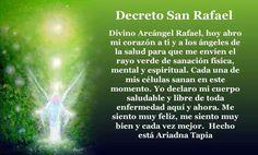 Rayo de luz Verde Esmeralda de San Rafael Arcangel