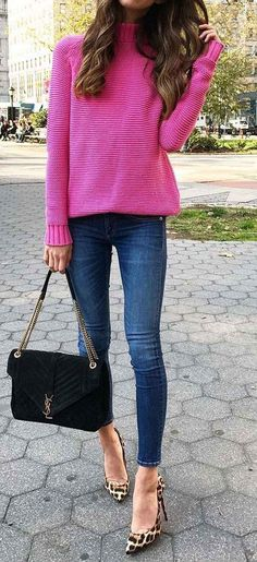 Nice 151 Sweaters Outfit Idea You Should Try This Year | Fashion https://dressfitme.com/sweaters-outfit-idea-you-should-try-this-year/