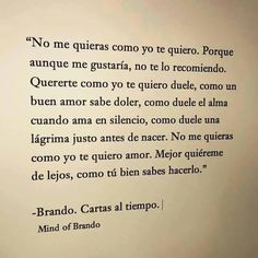 Image about love in Frases. by Montse Garcia on We Heart It True Quotes, Great Quotes, Quotes To Live By, Inspirational Quotes, Qoutes, Amor Quotes, More Than Words, Some Words, Frases Love