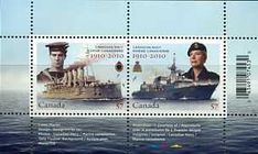 Postage Stamps - Canada 2010 Canadian Navy