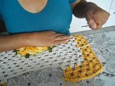 2 parte tapete frente vaso jogo de banheiro 4 peças Crochet Designs, Crochet Patterns, Yarn Crafts, Diy Crafts, Crochet Videos, Craft Tutorials, Fingerless Gloves, Arm Warmers, Free Pattern