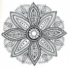 "Free Mandala | Drawing Mandalas | Join my grown-up coloring group on fb: ""I Like to Color! How 'Bout You?"" https://m.facebook.com/groups/1639475759652439/?ref=ts&fref=ts"