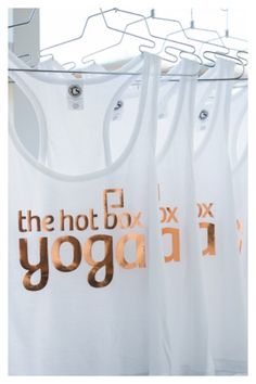 Hot Box Tanks Available online at www.thehotboxyogashop.com