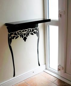 Table legs - wall art decal