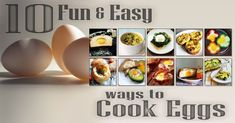 Pastured Eggs are considered by top experts to be one of the all time best SuperFoods. Easy to get at almost any farmers market, pastured eggs are an inexpensive way to add a lot of nourishment to your family's meals. Here's some really fun and easy ways to cook eggs...