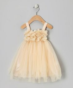 Take a look at this Peach Princess Petal Dress - Toddler & Girls by Sweet Chics Couture on #zulily today!