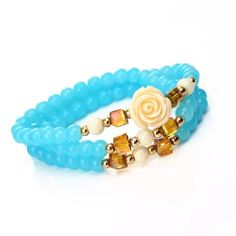 Rose beautiful stretch bracelet Brand new and beautiful. It comes with a gift bag Jewelry Bracelets