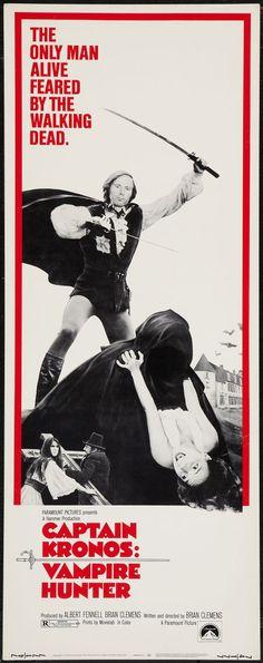 Captain Kronos - Vampire Hunter (1974) Stars: Horst Janson, John Carson, Shane Briant ~ Director: Brian Clemens