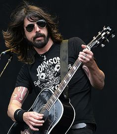 Rock it Dave! It's crazy how many times he almost gave up on the Foo Fighters. Glad he didn't!