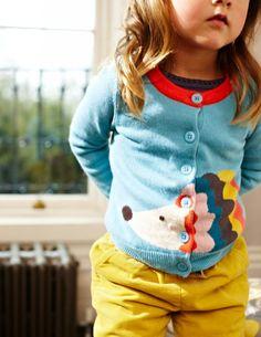 girl sweater mini-boden / jersey erizo para niña