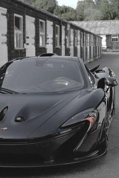 McLaren P1 in black #goodwood #petrolified