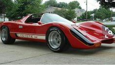 """Coyote X a kit car made for the action/adventure  tv show """"Hardcastle & McCormick """"  Aired from 1981-1986"""