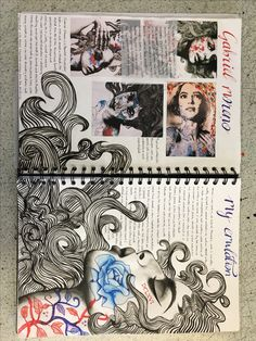 Photography sketchbook layout presentation 39 Trendy ideas A Level Art Sketchbook Water Lolo Art Inspo, Kunst Inspo, Kunstjournal Inspiration, Sketchbook Inspiration, Sketchbook Ideas, Le Wendigo, Portfolio D'art, Fashion Portfolio, Arte Gcse