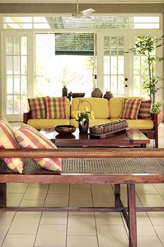 The Philippines' Bestselling Home Magazine. Home Furniture, Outdoor Furniture Sets, Outdoor Decor, Rest House, Interior Architecture, Interior Design, Tropical Houses, House And Home Magazine, Sliding Door