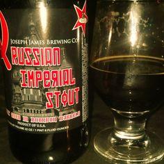 Joseph James Brewing - Russian Imperial Stout - Bourbon Barrel Aged Imperial Stout